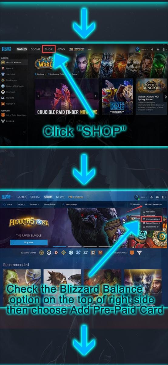 How to redeem CDK on Battlenet Client