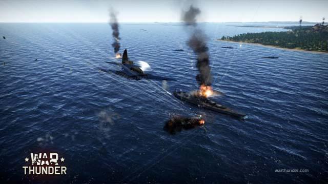 war thunder naval battles