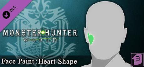 Buy Monster Hunter: World - Face Paint: Heart Shape for