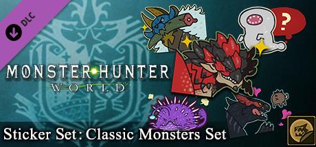 Buy Monster Hunter: World - Sticker Set: Classic Monsters