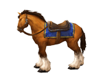 Brown Horse Bridle(WoW Classic)