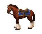 Chestnut Mare Bridle(WoW Classic)